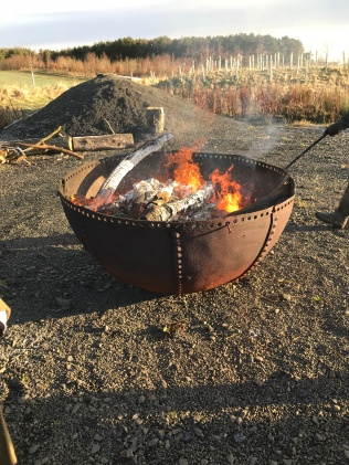 An epic fire pit